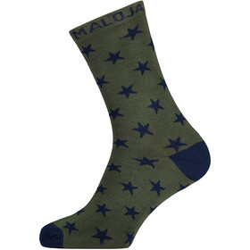 Maloja AcquarossaM. Socken dark cypress